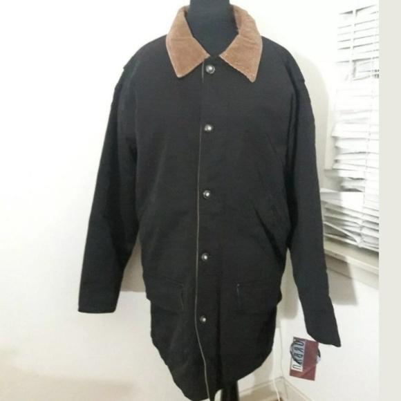 69c58253f NWT Urban Equipment Jacket Men's Black Barn Coat NWT